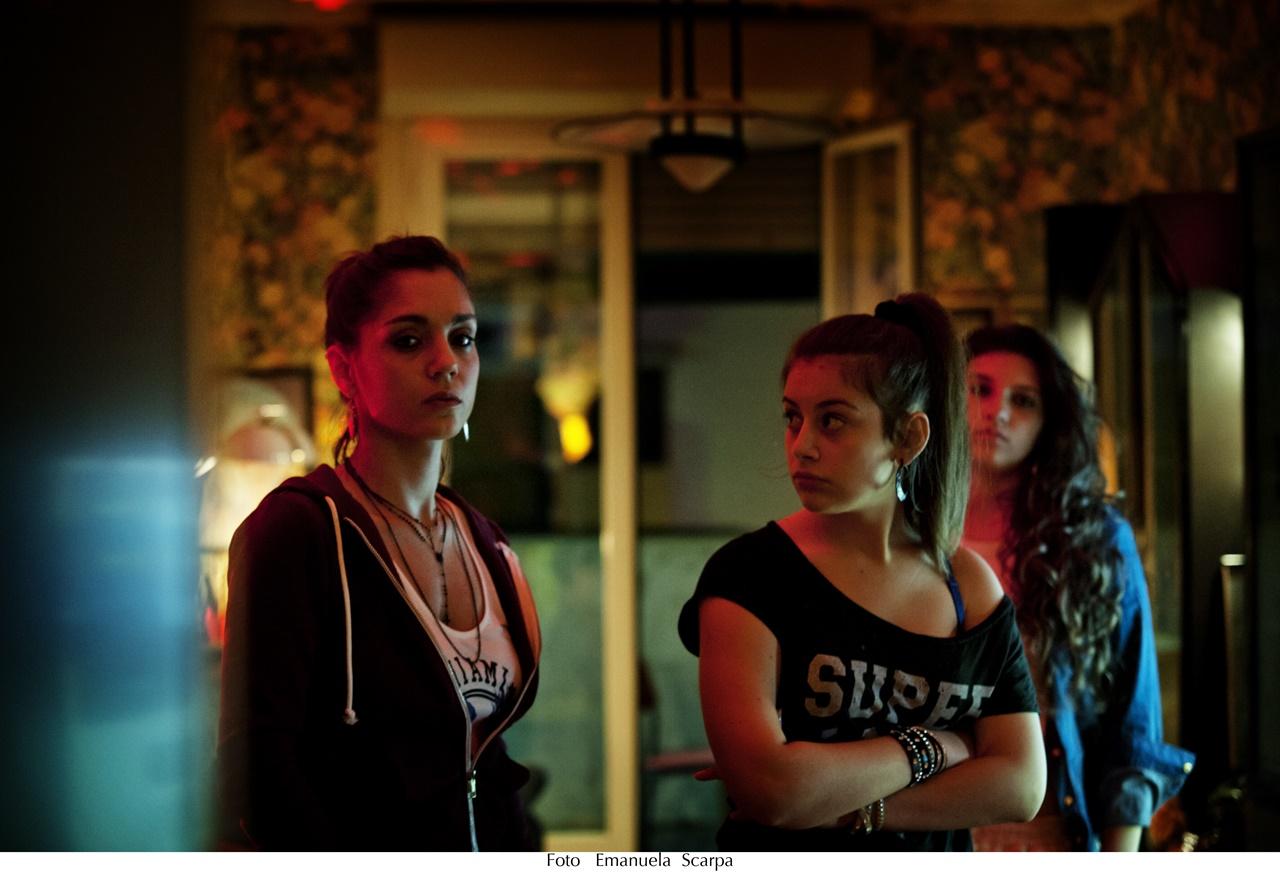 Gomorra: l'attrice Cristiana Dell'Anna in una foto della serie