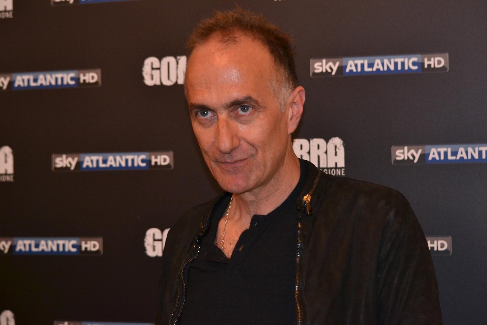 Gomorra seconda stagione: Stefano Sollima in uno scatto al photocall
