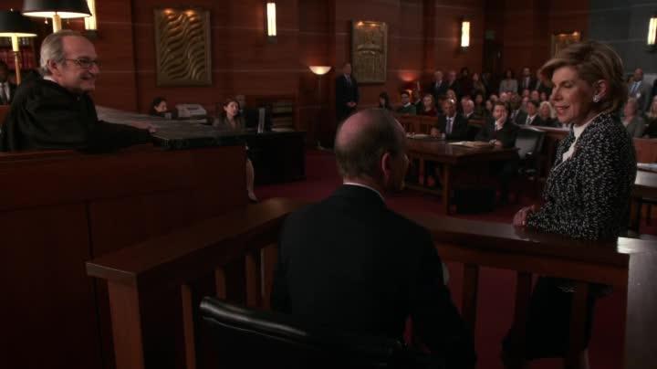 The Good Wife: Christine Baranski interpreta Diane in tribunale