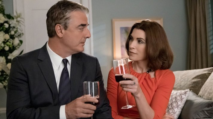 The Good Wife: Julianna Margulies e Chris Noth nell'episodio End