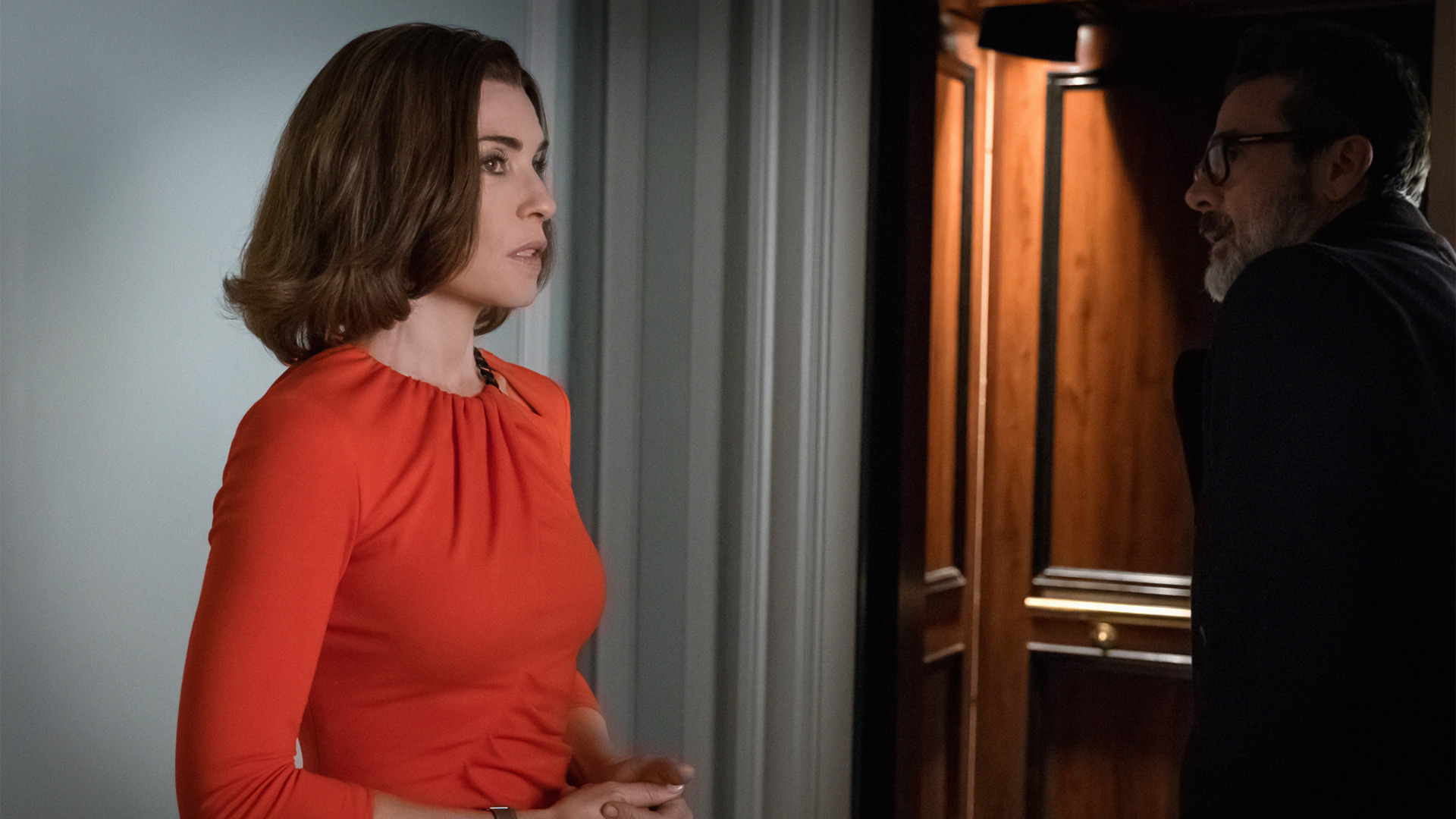 The Good Wife: Alicia e Jason nell'episodio intitolato End