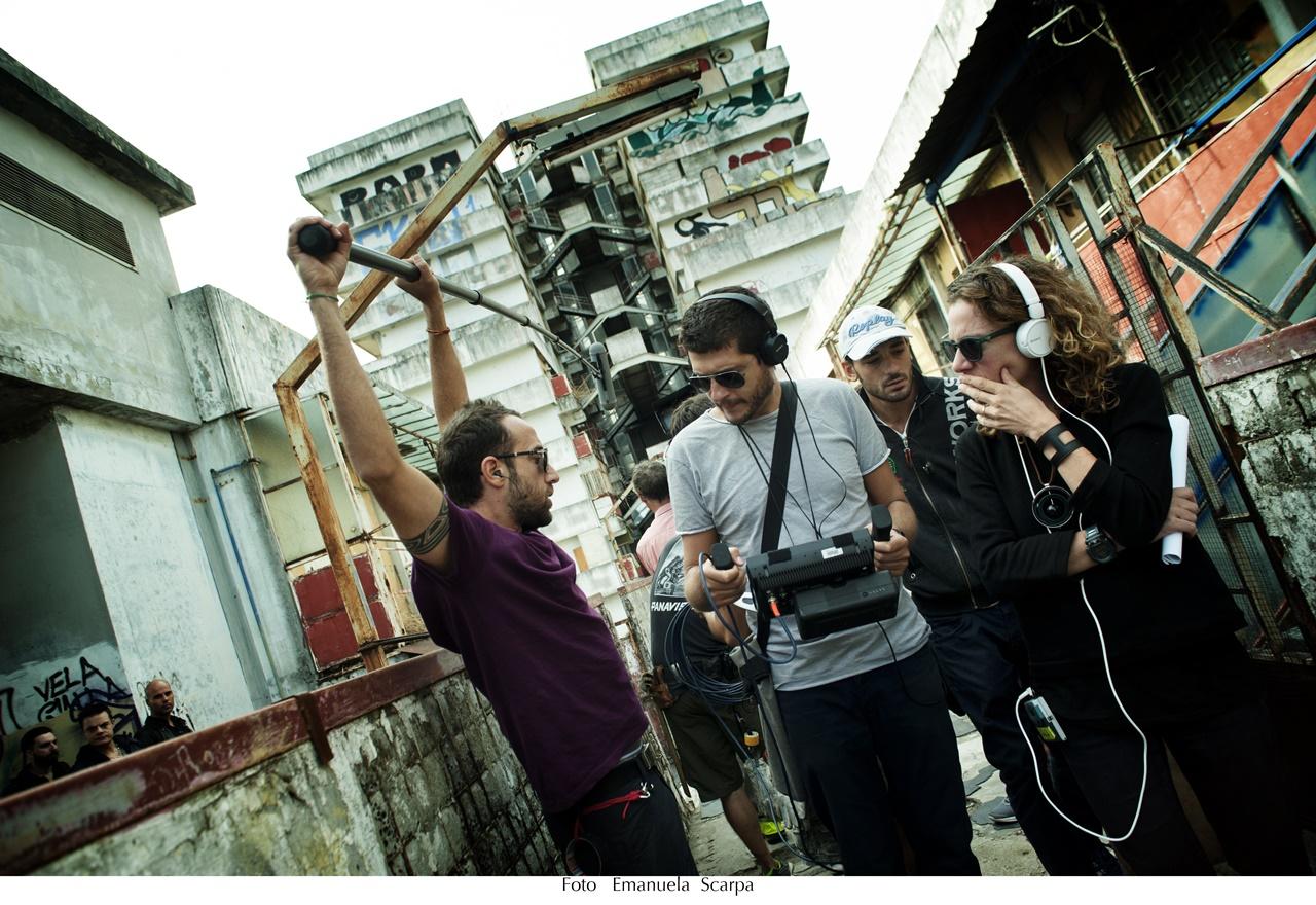 Gomorra: una foto dei registi della serie