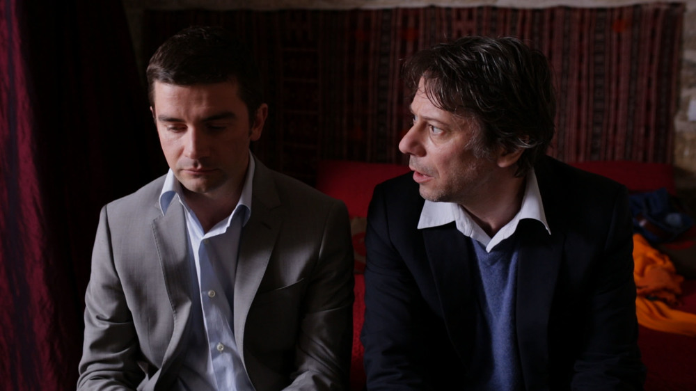 Le cancre: Pascal Cervo e Mathieu Amalric in una scena del film