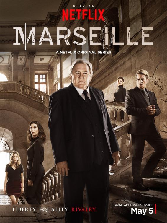 Marseille: la locandina della serie