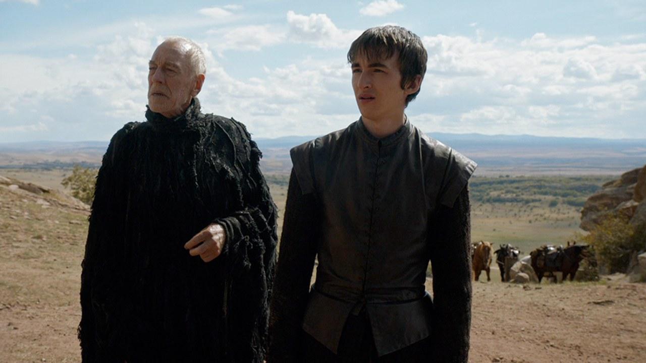 Il trono di spade: il Corvo a Tre Occhi e Bran in Oathbreaker