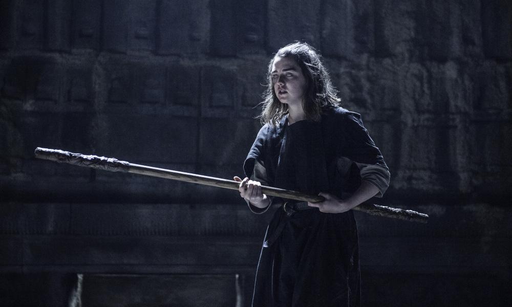 Il trono di spade: Arya combatte in Oathbreaker