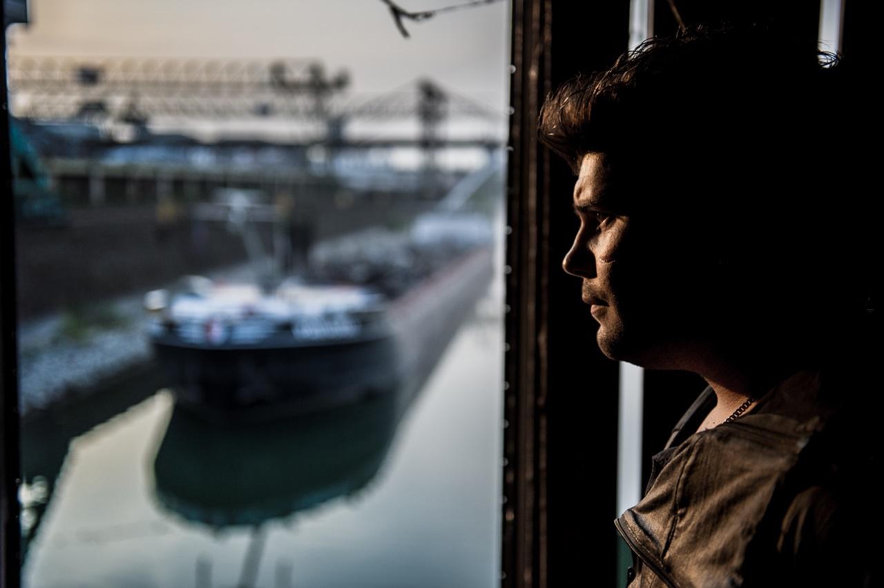 Gomorra: Salvatore Esposito in una foto della serie