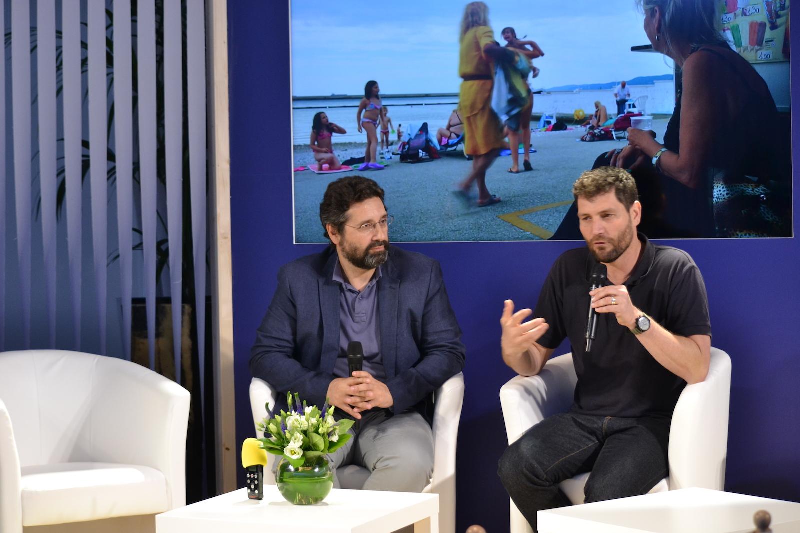 Cannes 2016: Thanos Anastopoulos insieme a Davide Del Degan