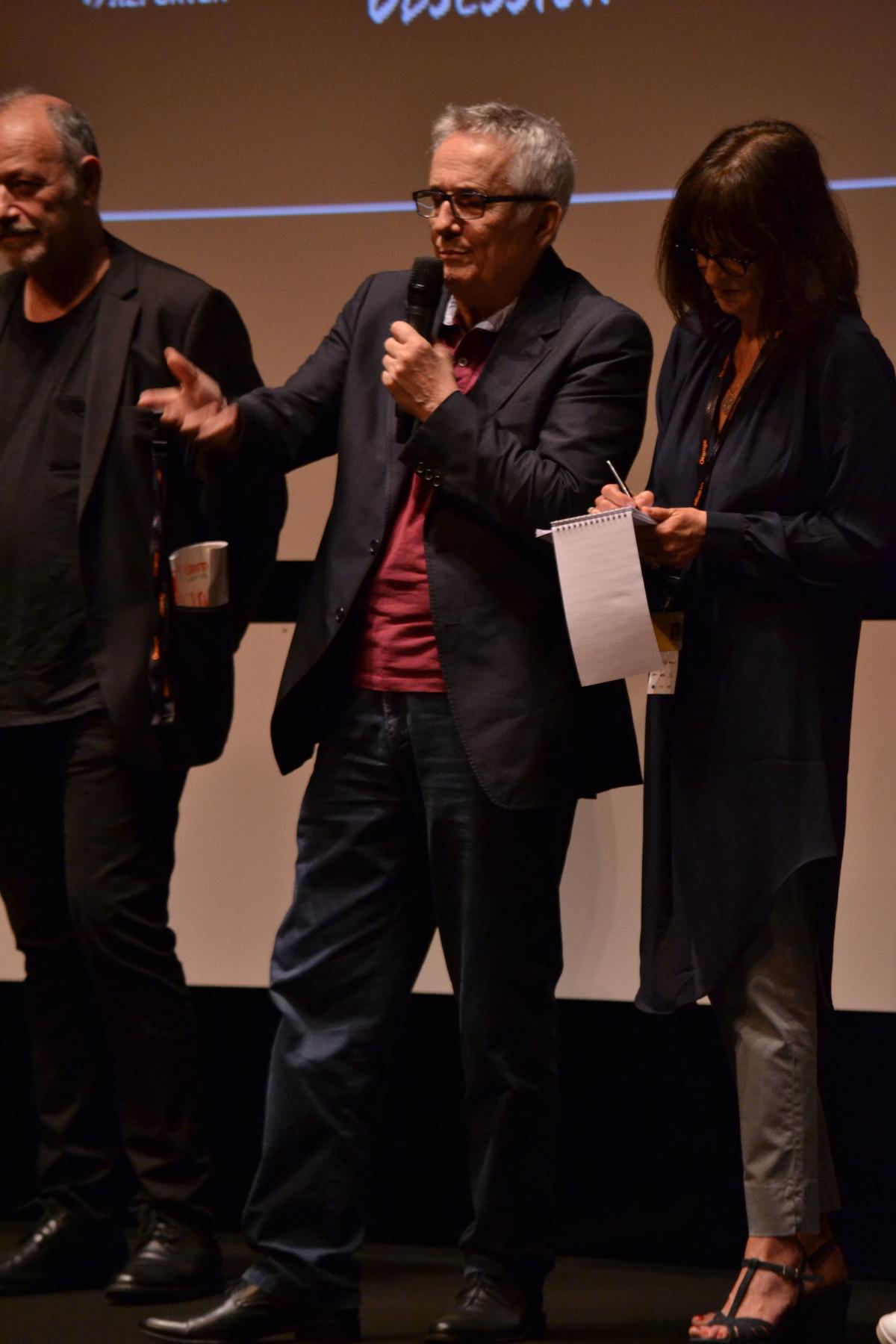Cannes 2016: Marco Bellocchio in uno scatto alla conferenza di Fai bei sogni
