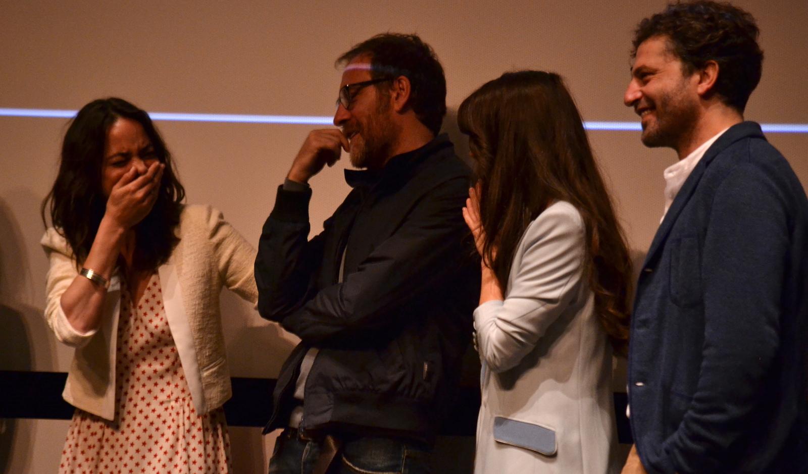 Cannes 2016: Bérénice Bejo, Valerio Mastandrea, Guido Caprino alla conferenza di Fai bei sogni