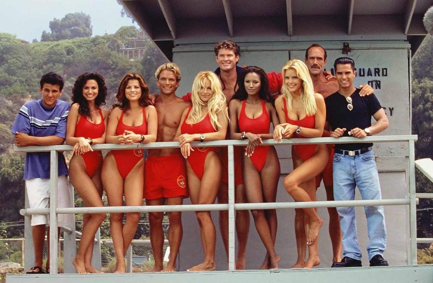 Baywatch - il cast del telefilm