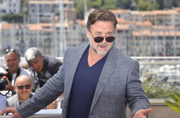The Nice Guys: Russell Crowe in un momento del photocall