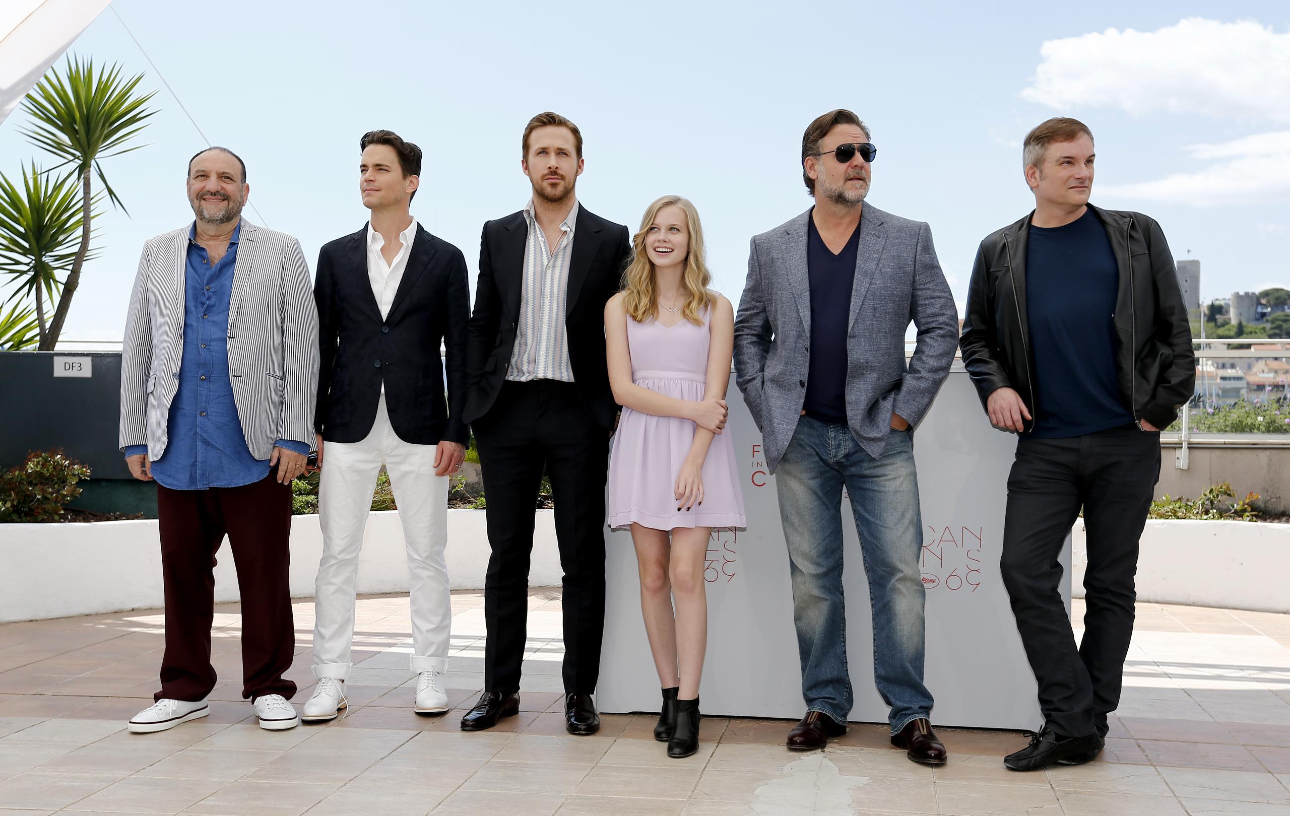 The Nice Guys: il cast del film con il regista Shane Black