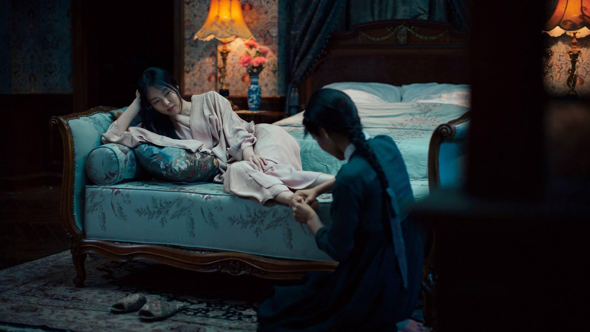 Una sequenza sensuale di The Handmaiden