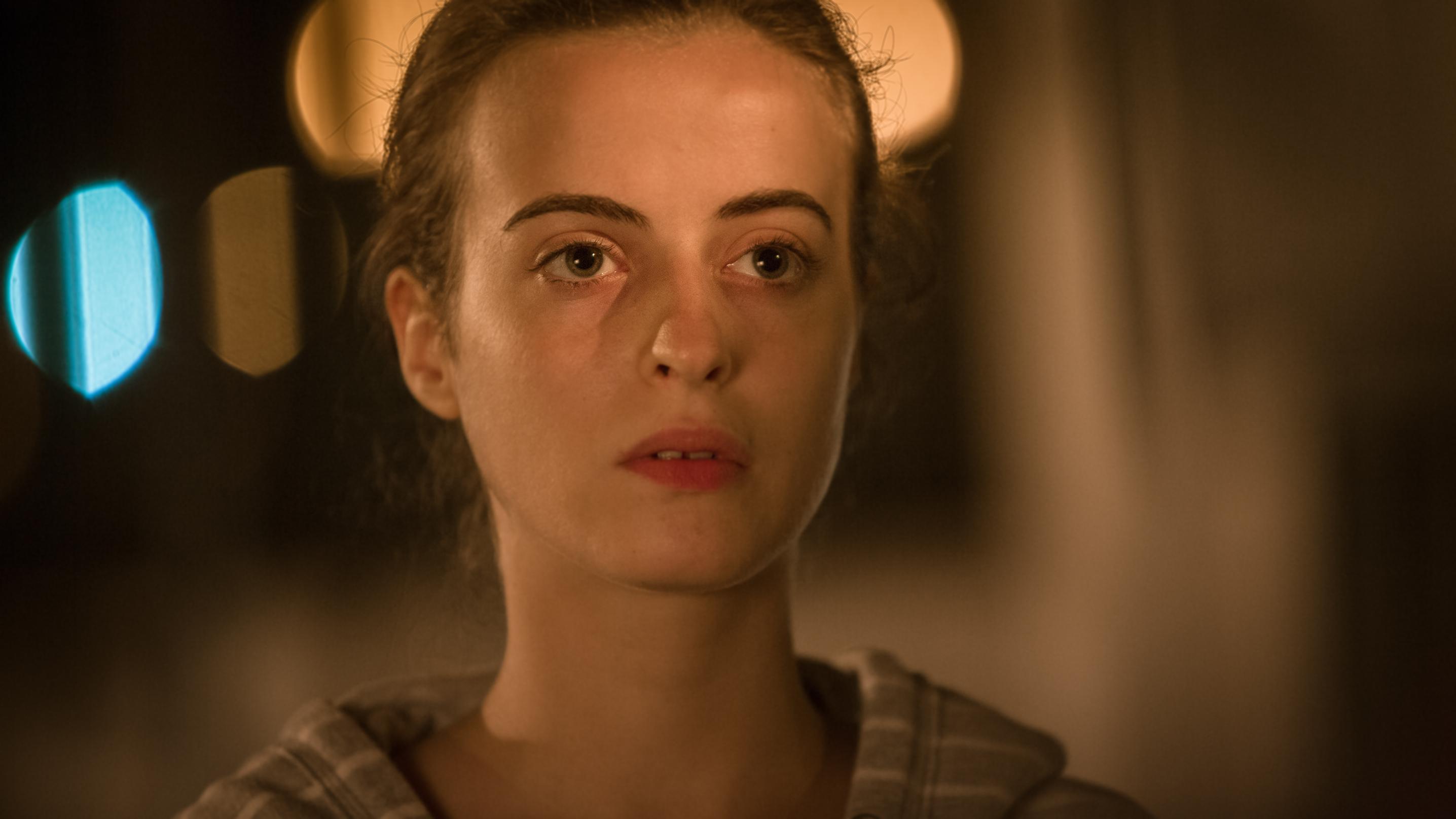 Romanzo siciliano: l'attrice Astrid Casali in una foto di scena