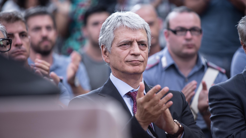 Romanzo siciliano: Fabrizio Bentivoglio interpreta il tenente colonnello Sergio Spada