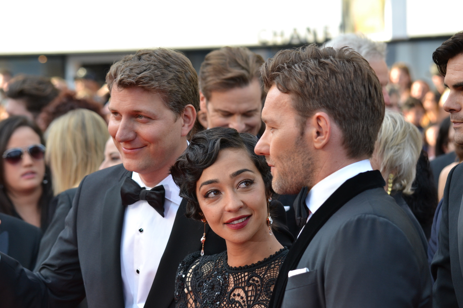 Cannes 2016:  Joel Edgerton, Ruth Negga e Jeff Nichols in uno scatto sul red carpet di Loving