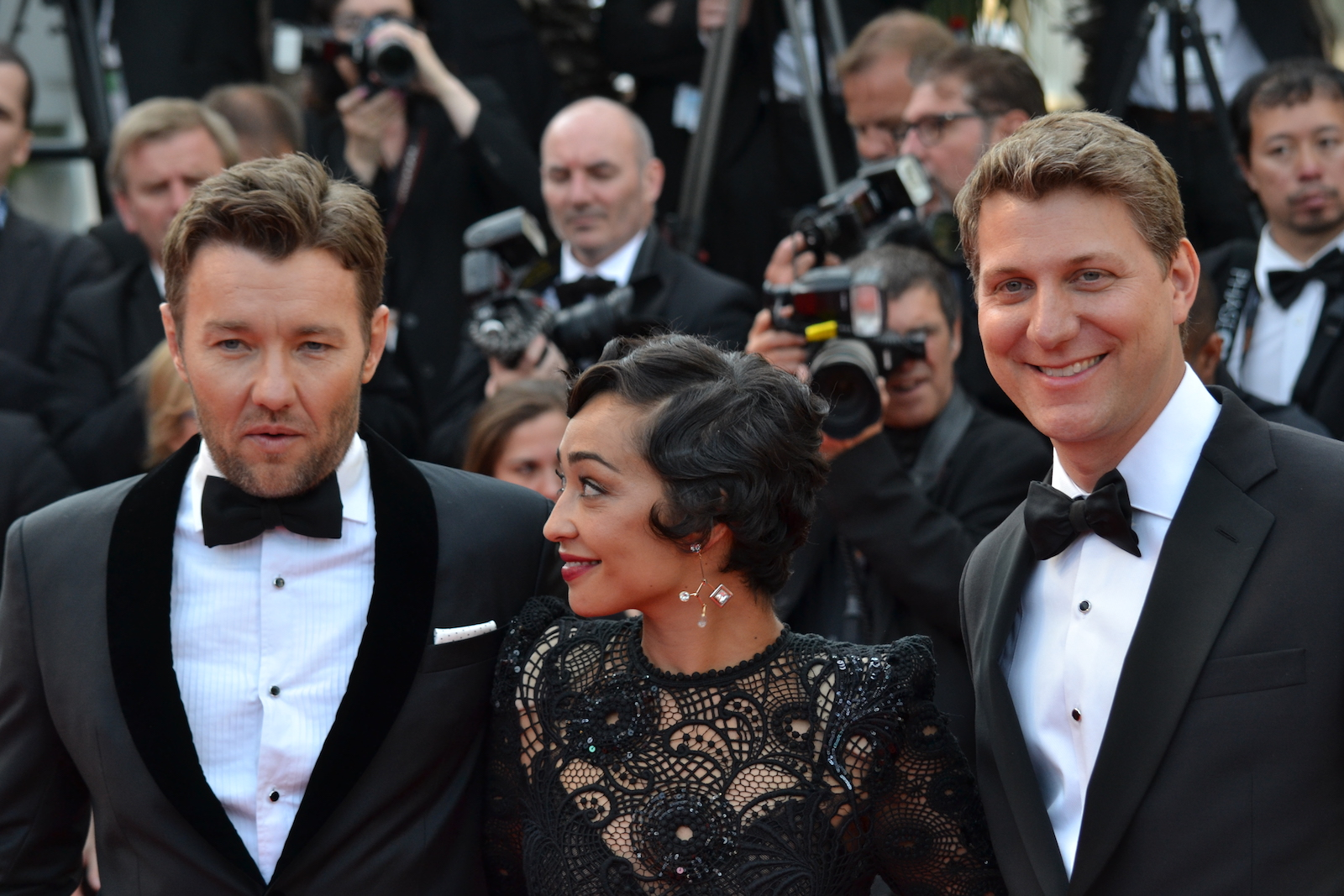 Cannes 2016: Joel Edgerton, Ruth Negga e Jeff Nichols sul red carpet di Loving