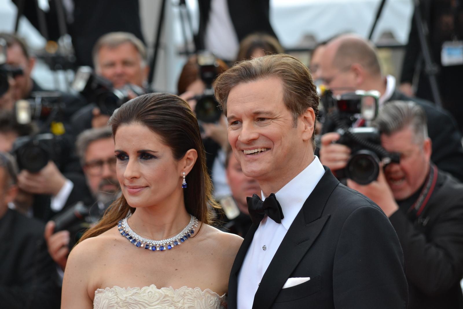 Cannes 2016: il produttore Colin Firth sul red carpet di Loving
