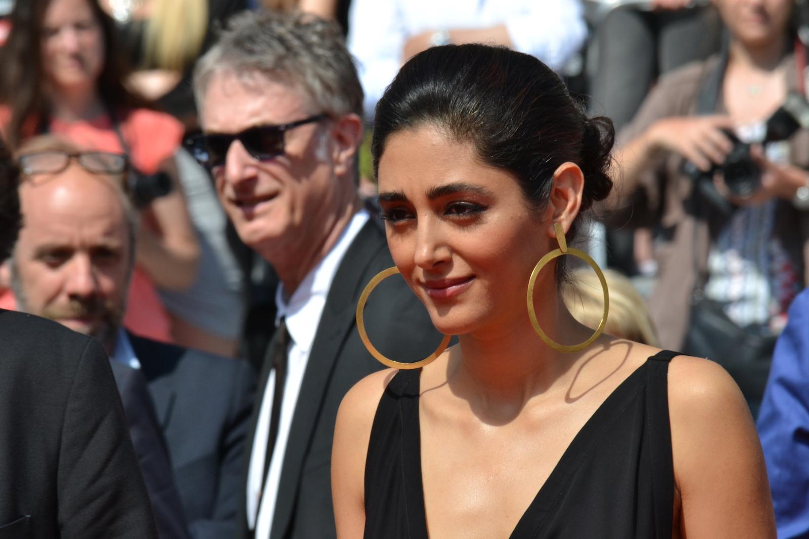 Cannes 2016: uno scatto di Golshifteh Farahani sul red carpet per Paterson