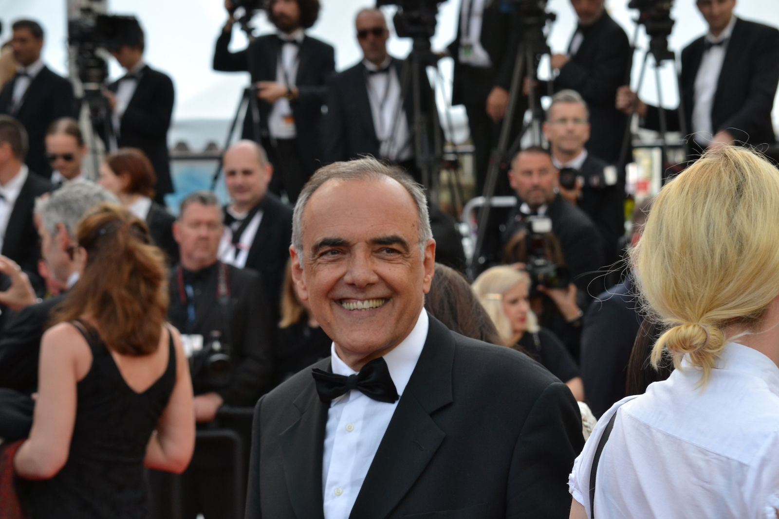 Cannes 2016: Alberto Barbera sul red carpet di Loving