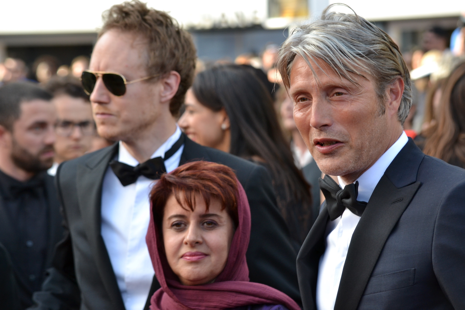 Cannes 2016: Mads Mikkelsen e altri giurati sul red carpet di Loving