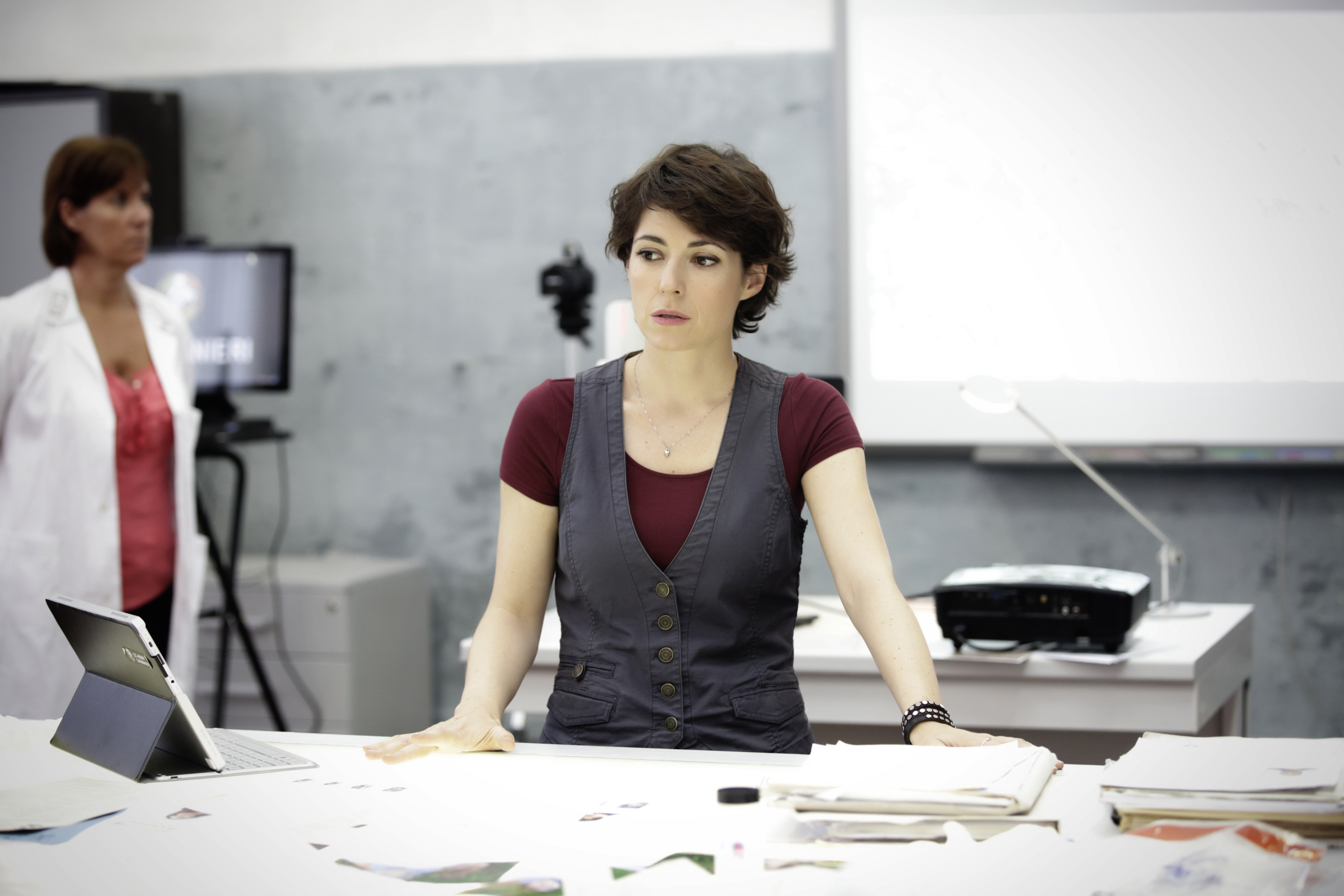 Romanzo siciliano: una foto dell'attrice Vanessa Compagnucci
