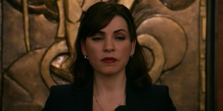 The Good Wife: Julianna Margulies in una scena dell'episodio Gioco al massacro