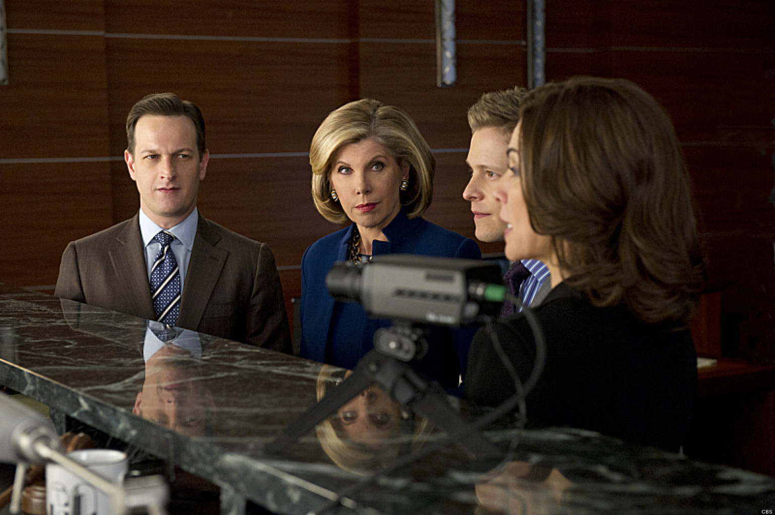 The Good Wife: un momento dell'episodio Squadra rossa, squadra blu
