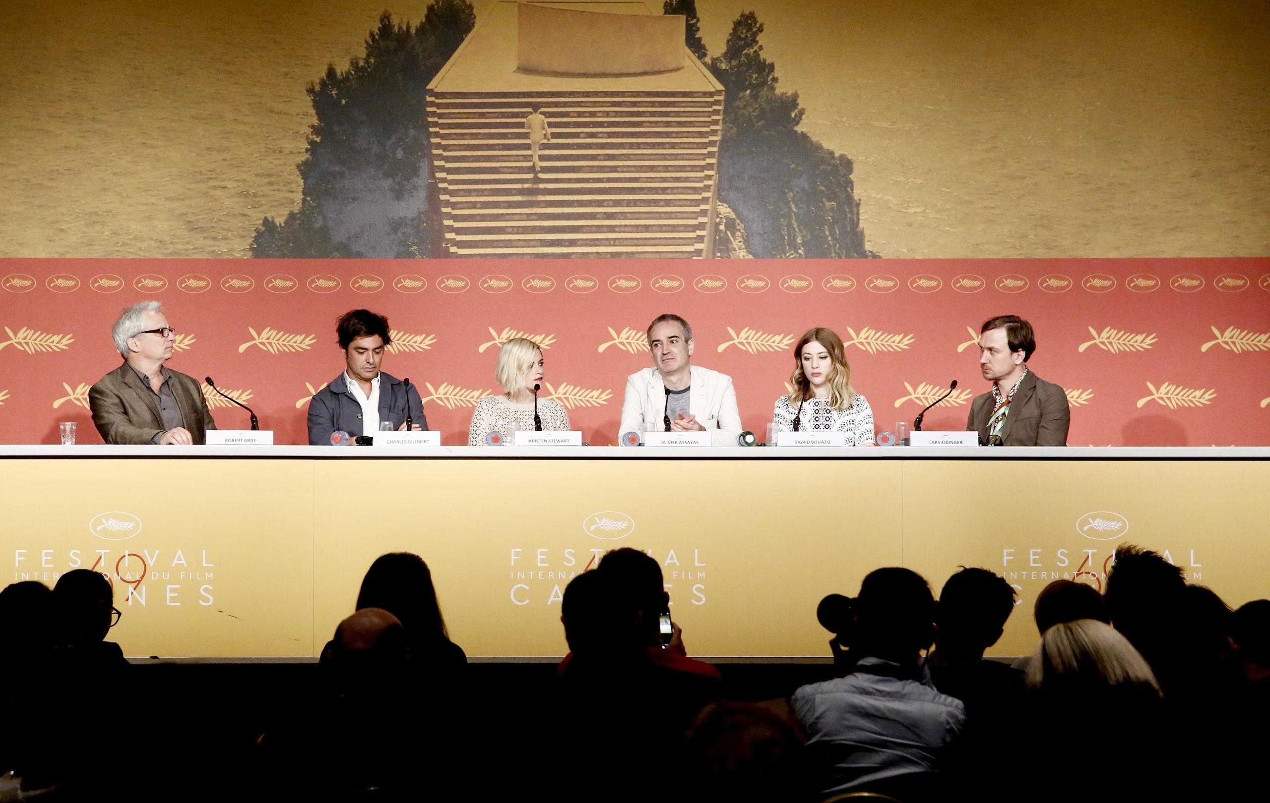 Personal Shopper: un'immagine della conferenza di Cannes