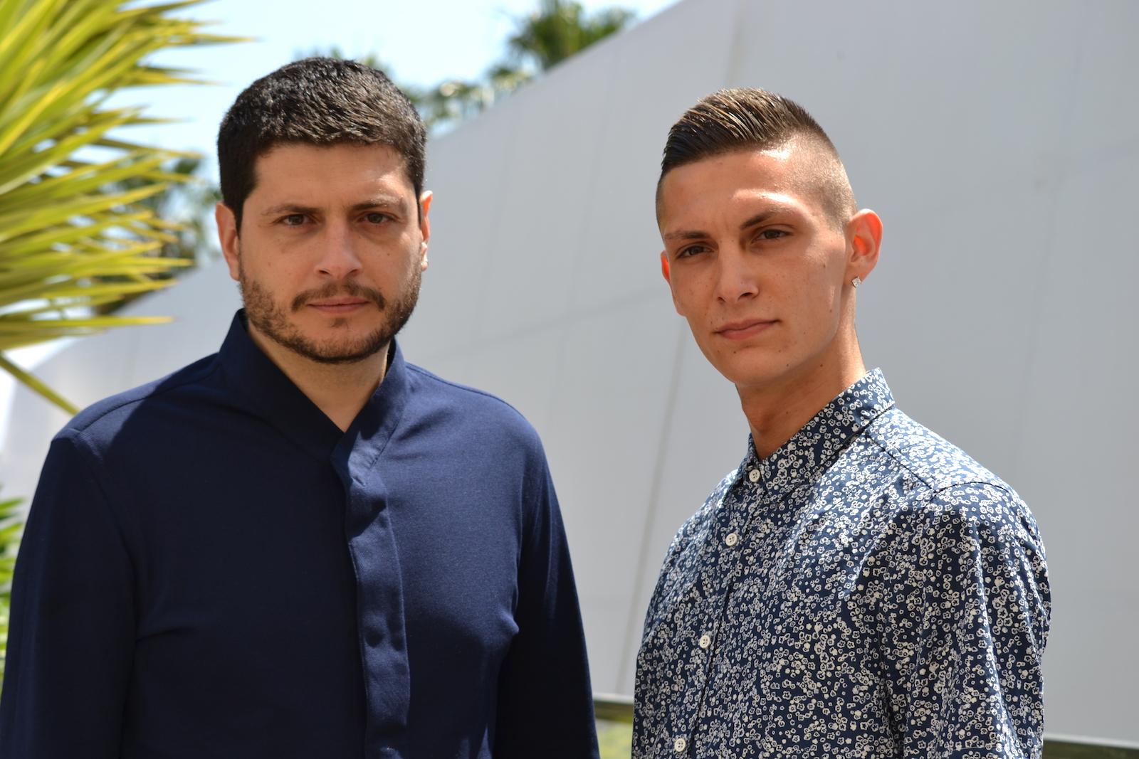 Cannes 2016: Claudio giovannese e Josciua Algeri al photocall di Fiore