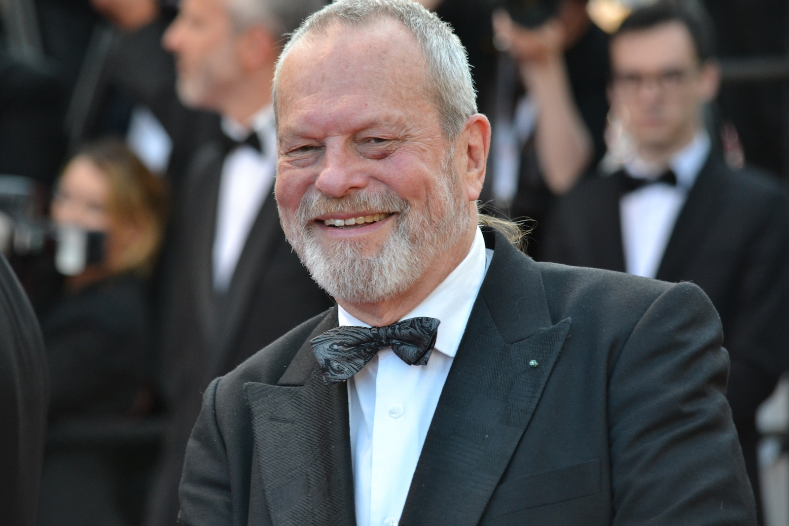 Cannes 2016: Terry Gilliam in un immagine sul red carpet di Julieta