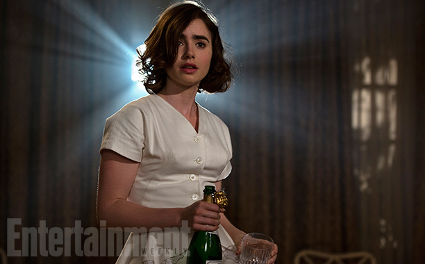 Rules Don't Apply: Lily Collins in una foto del film