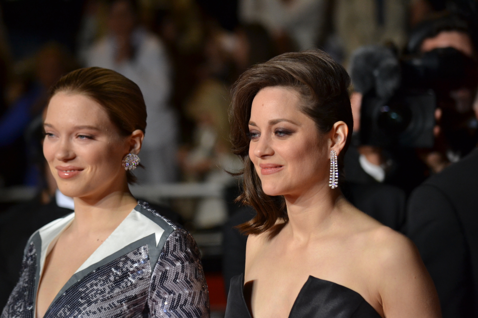 Cannes 2016: Léa Seydoux e Marion Cotillard sul red carpet di Juste la Fin du Monde