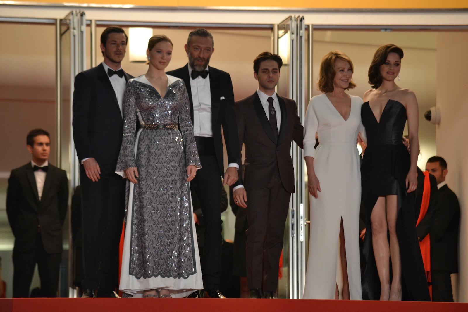 Cannes 2016: Vincent Cassel, Léa Seydoux, Xavier Dolan, Marion Cotillard, Gaspard Ulliel sul red carpet di Juste la Fin du Monde