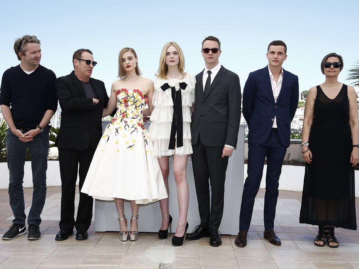 The Neon Demon: Nicolas Winding Refn e il cast a Cannes