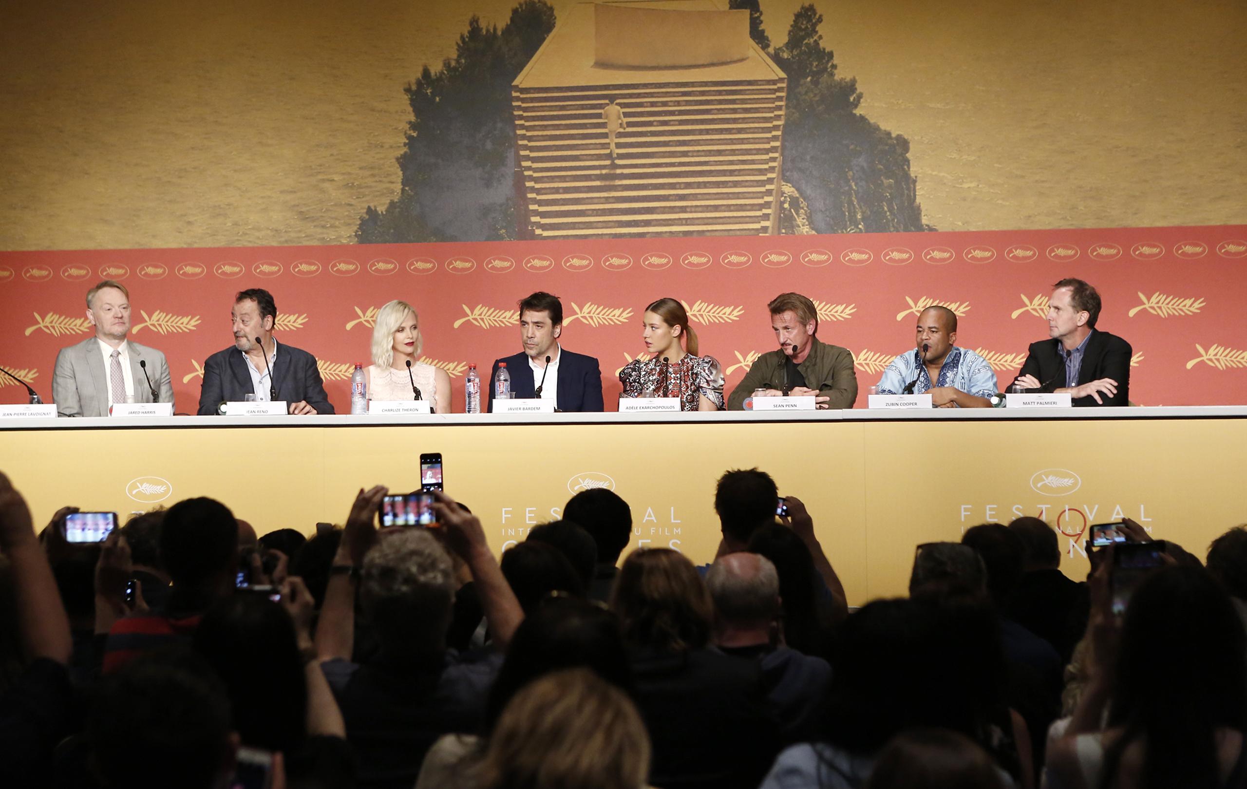 The Last Face: Sean Penn e il cast in conferenza