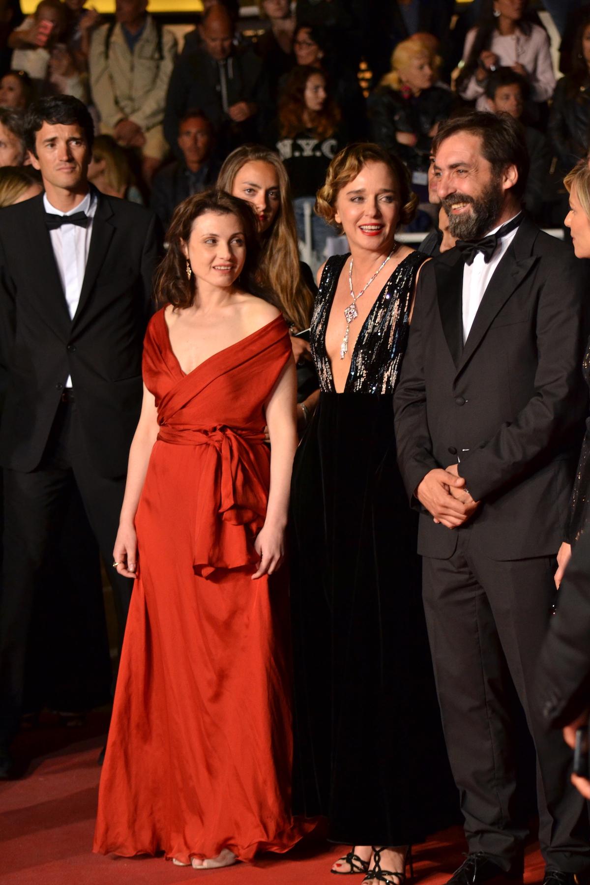 Cannes 2016: Valeria Golino, Marina Foïs e Stefano Mordini sul red carpet per Pericle il nero