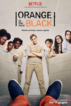Orange Is the New Black: il poster per la quarta stagione
