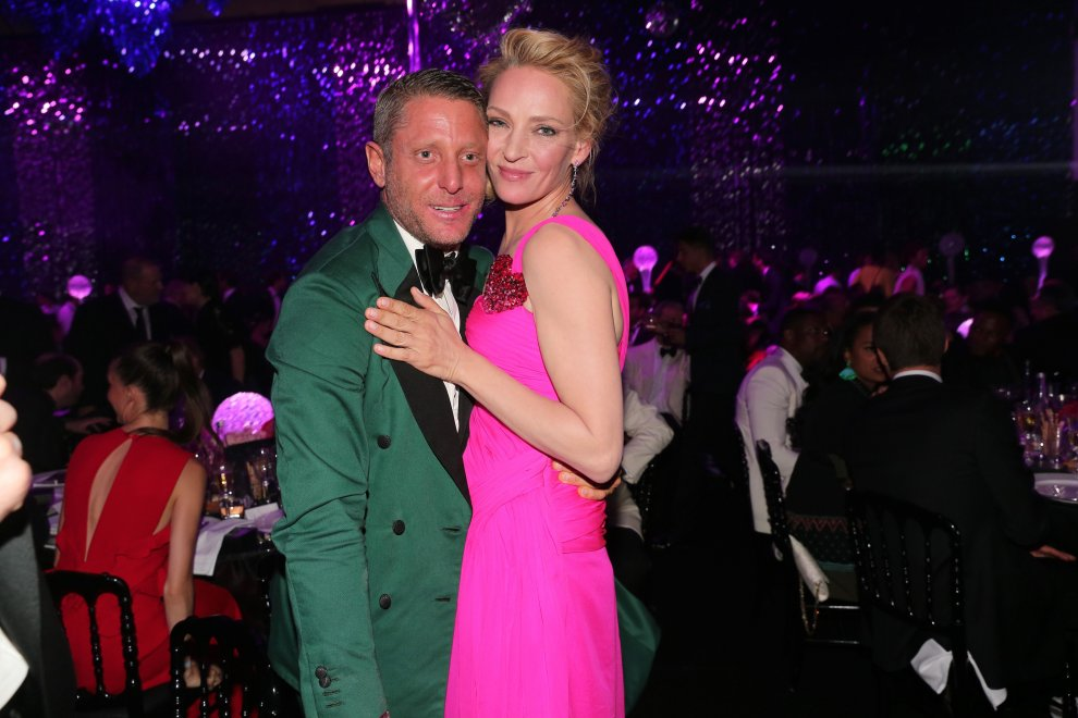 Cannes 2016: il famigerato bacio tra Uma Thurman e Lapo