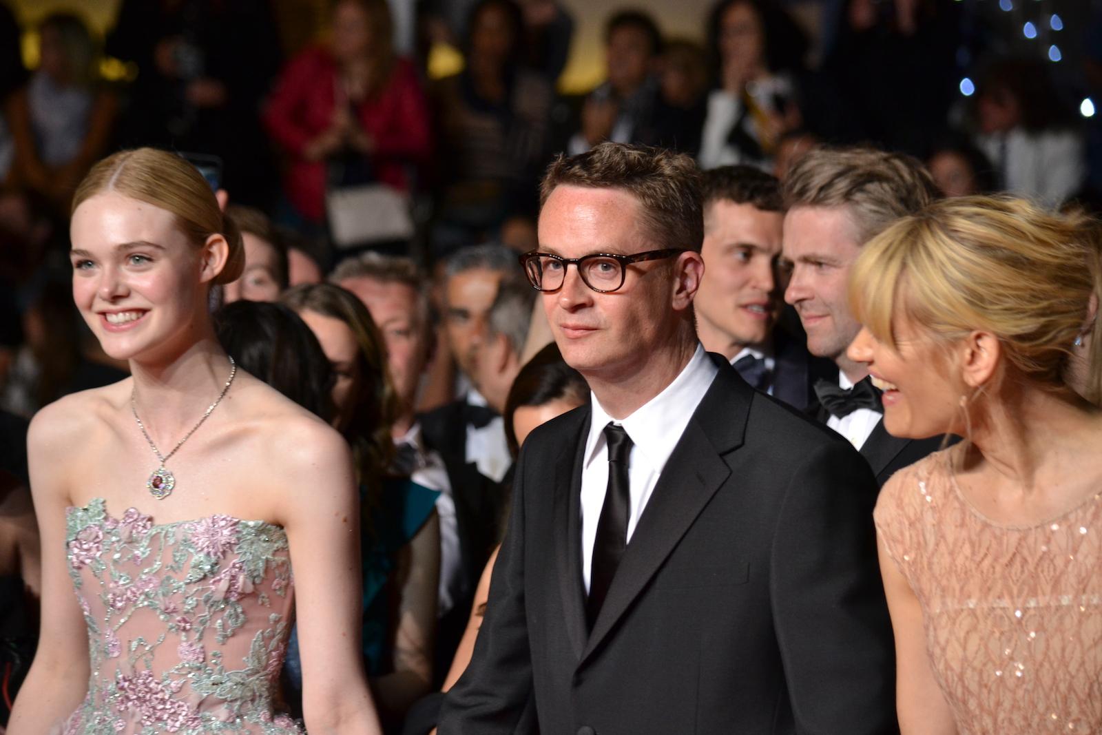 Cannes 2016: Nicolas Winding Refn e Elle Fanning sul red carpet di The neon Demon