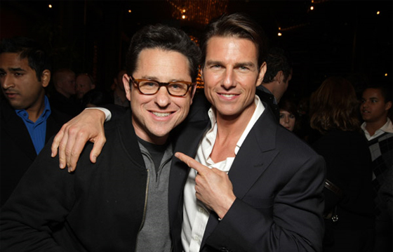 Tom Cruise e J.J. Abrams