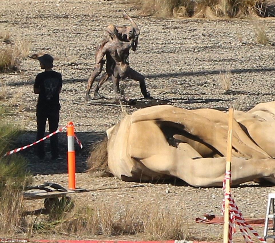 Alien: Covenant - Una foto dal set