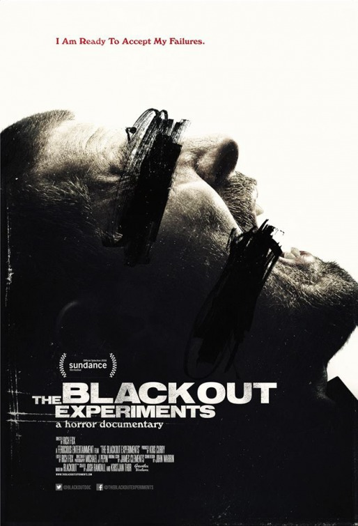 The Blackout Experiments: la nuova locandina