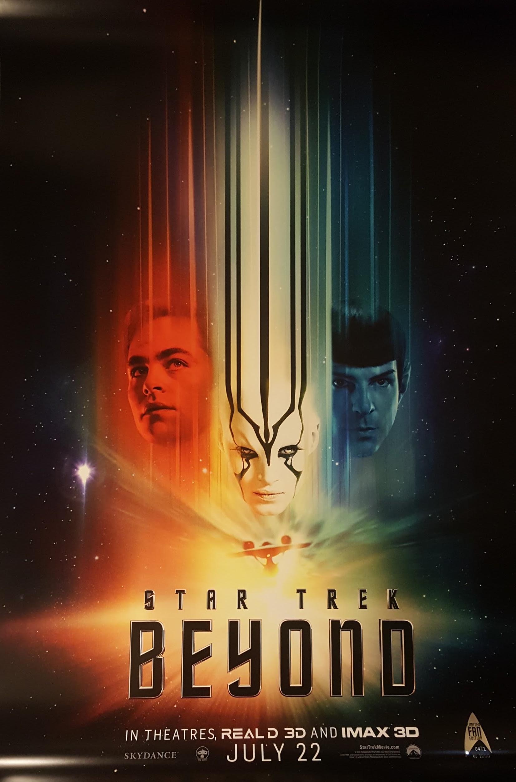 Star Trek Beyond: nuova locandina ufficiale
