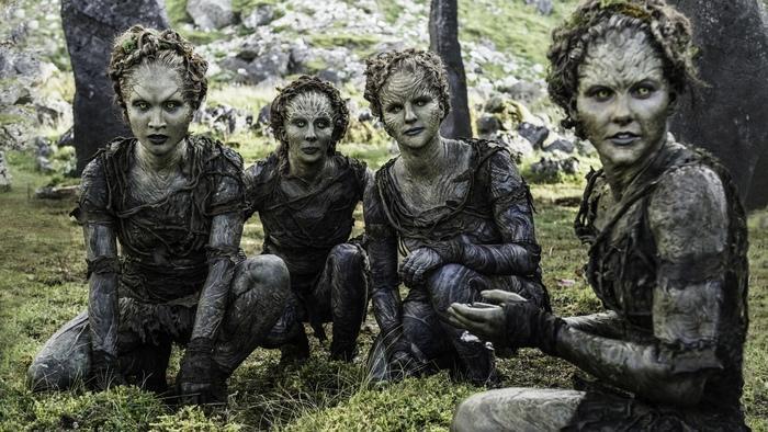 Il trono di spade: un'immagine tratta dall'episodio The Door