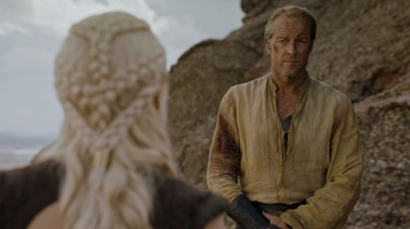 Il trono di spade: Iain Glen in The Door