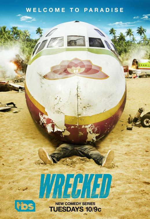 Wrecked: il poster della serie