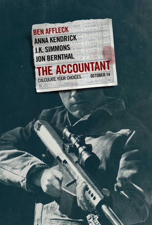 The Accountant: la nuova locandina