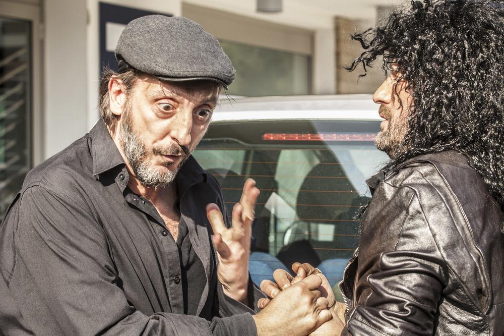 Ciao Brother: Massimo Ceccherini in una scena del film